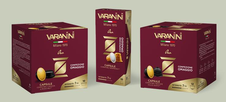 Caffè Varanini - Nuova linea Capsule Compatibili
